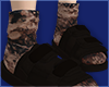 bleached socks