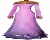 Fushia Long Gown
