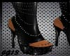 -PvC Spiked Boots-