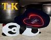 T.K Valentine's Panda