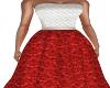 Chelsea   Red/Wht Dress