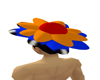 M/F derivable flower hat