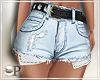 Zariah Distressed Shorts