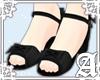 Lolita Sandals~ Black II