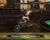 Steampunk Flying Bike