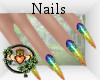 Rainbow Pride Claw Nails