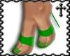 * Green Strap Heels V1