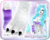 H| Pixi* Fur Feet Paws