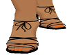 Black & Orange Heels