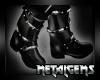 CEM Dark Pvc Metal Boots