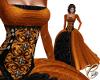 Pumpkin Queen Gown