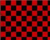 red n black flip flops
