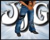 JjG  SKull Muscle Jeans