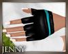 *J 80's Gloves Teal