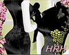 HRH Black Yellow Flowers