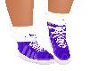 Purple sock Shoe