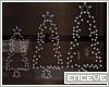 ENC. LIGHTED XMAS TREES