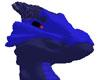 Multi-blue Dragon Head
