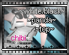 blk/white panda top