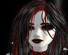 Vampire Hair Black.Red