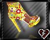 S Yellow Heels
