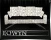 *E* black & crystal sofa