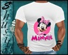 """.Minnie White.""Shirt"