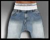 Geo. Saruel blue shorts