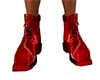 Red Lightning  Boots