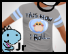 Hamster How i roll shirt