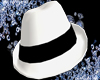 White Hat w Black Ribbon