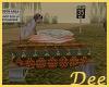 Concrete Chair w/ Dog