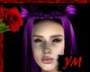 *Y* Purple demoness Hair