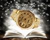 F. Watch Gold Diamond