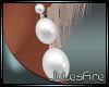 FIRE Pearl Earrings