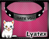 Ⓛ I Hate You | M |