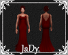 Amy's Blood Red Gown