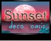 JAD DECO Sunset Oasis