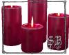 SB Rose Candles