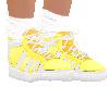 Yellow sock shoe 2