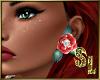 *Rose Earrings