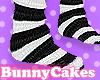 Black White Stripe Socks