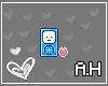 A.H | Blue iPod Sticky