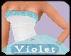 (V) summer blue gown