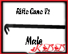 KDD Rifle Cane BlkHandle