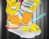 Tweety Bird Slippers