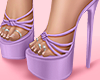 🌸 Summer Lilac Heels