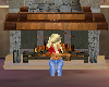 [SD] Animated Fireplace