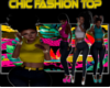 Chic Fashion Top (yellow
