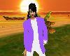 Lavender Suit Jacket